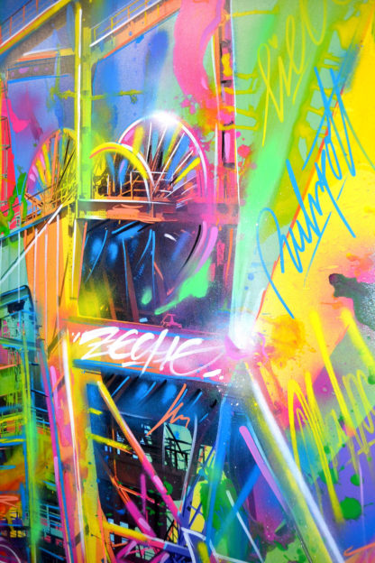 detail, graffiti-art, nahaufnahme, details, fineart, mixedmedia